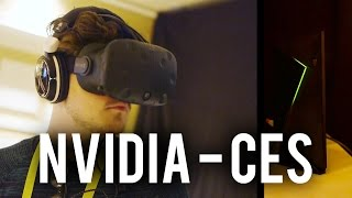 Trying out the HTC Vive & Oculus Rift - NVIDIA CES 2016