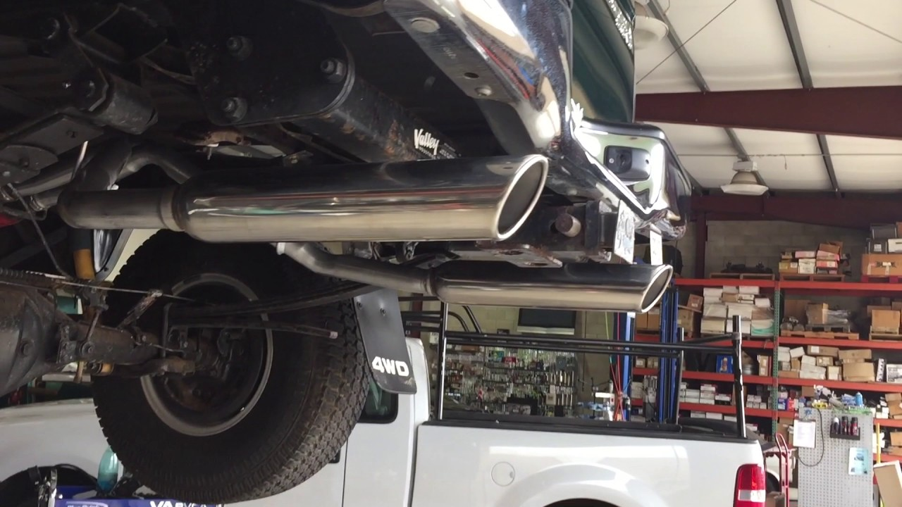 3 4 tacoma true dual exhaust two 30 cherry bomb glass packs