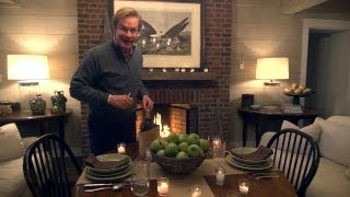 Romantic Tablescape For Two | At Home With P. Allen Smith