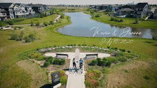 Playful Save The Date - Kevin & Joanne Picnic at Griesbach