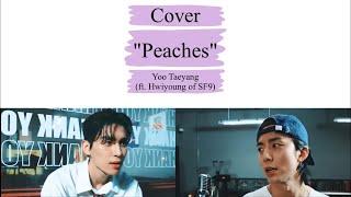 [LYRICS/가사] Cover- Peaches - Yoo TaeYang ft. Hwiyoung (SF9/에…