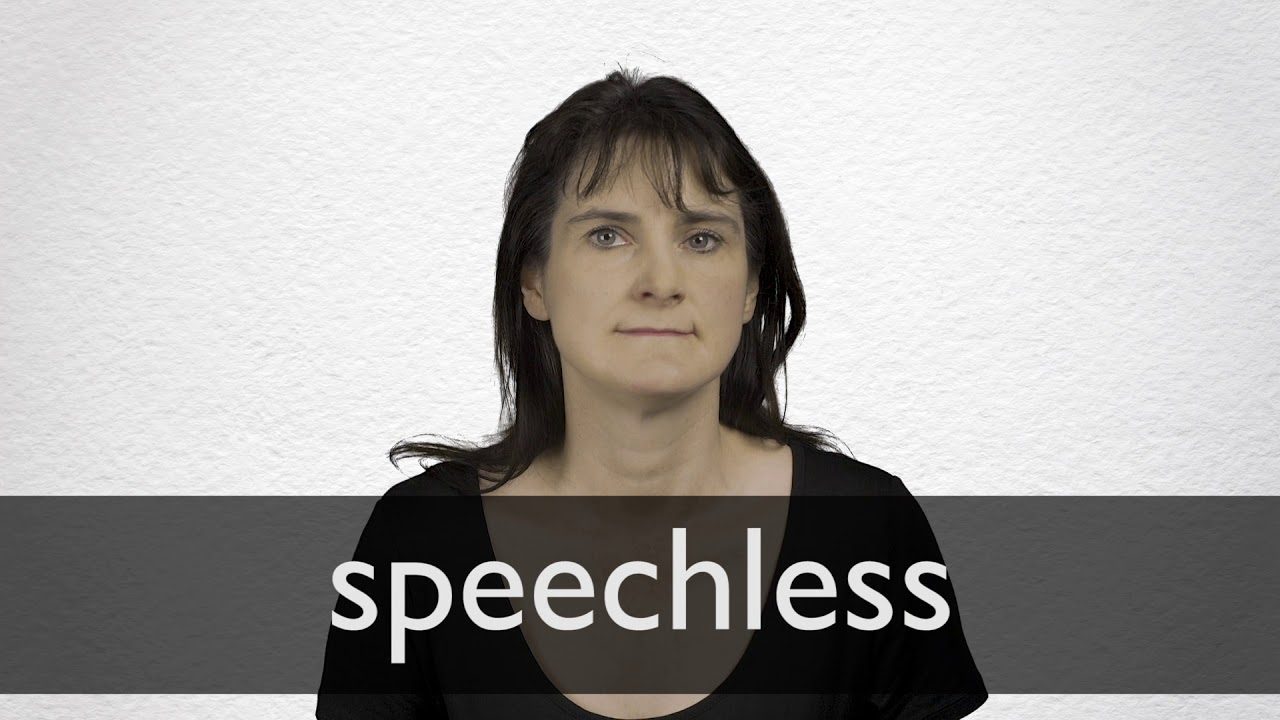 what does speechless mean