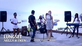 Gambar cover Nella Kharisma Ft. Dedy Boom - Lungset (Official Music Video)