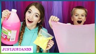 Hide And Seek Slime Making Challenge / JustJordan33