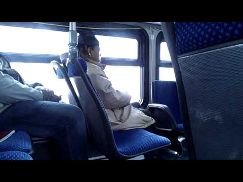 Crazy Black Woman Goes Off On The Metro Bus!