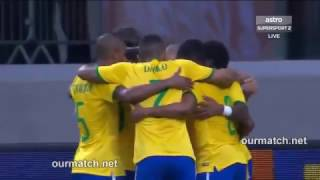 Brazil  vs  Mexico  (Highlights)