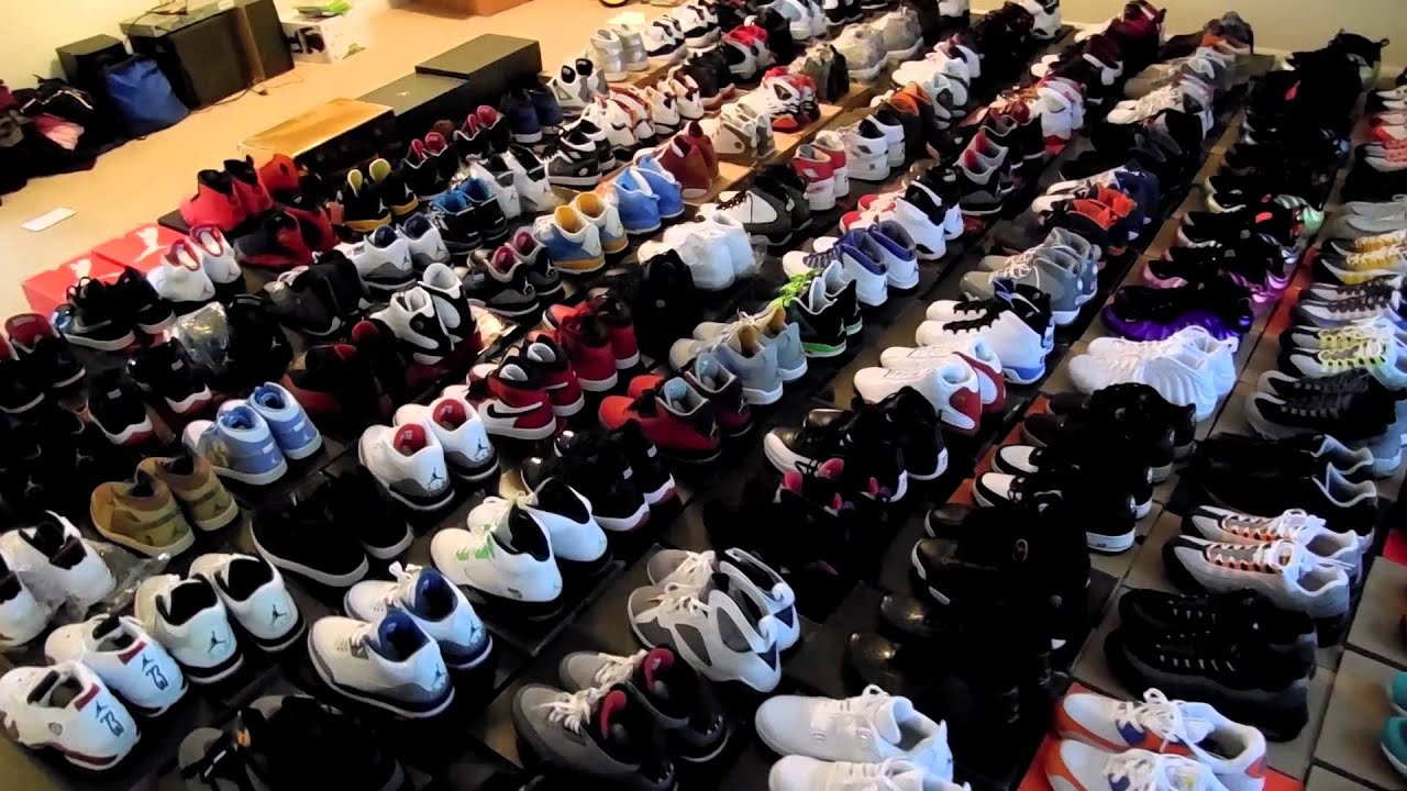 Biggest Nike Shoe Collection In The World
