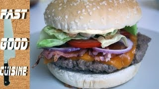 Comment faire le  Steakhouse Burger de Chez Burger King | FastGoodCuisine