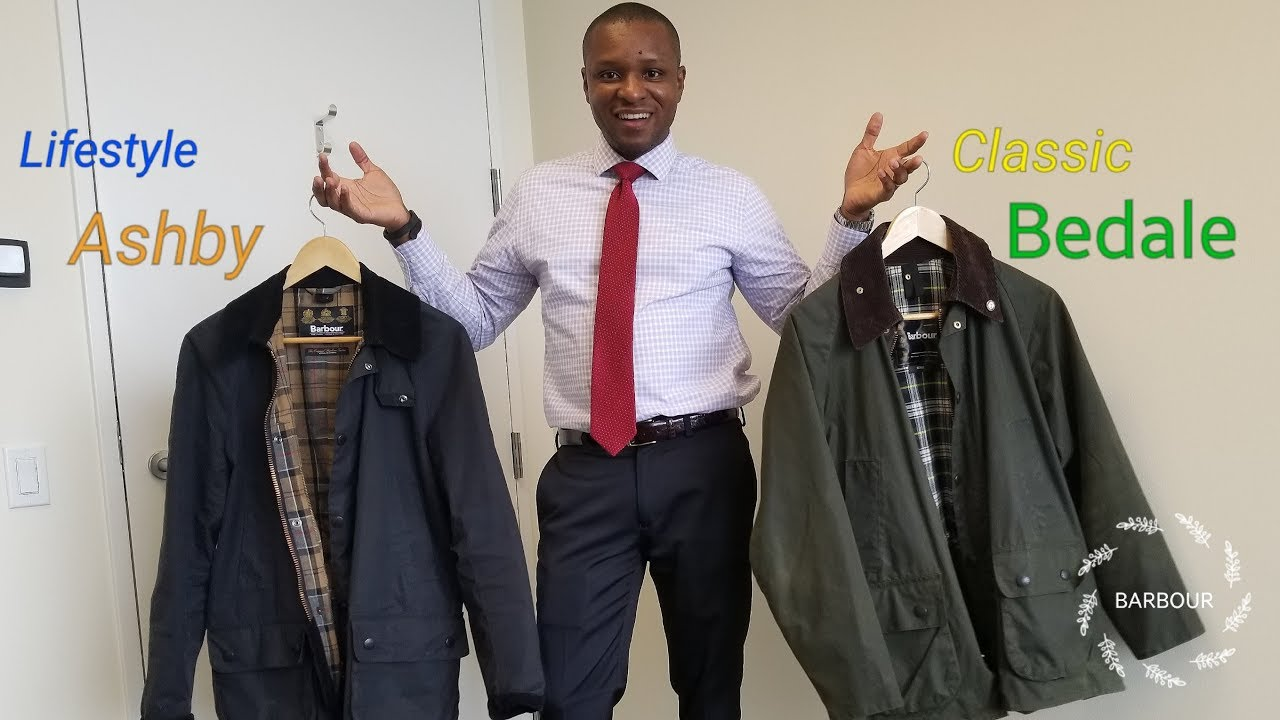 e9bbeea1732 Barbour Ashby or Bedale  Lifestyle vs Classic Collections! - YouTube