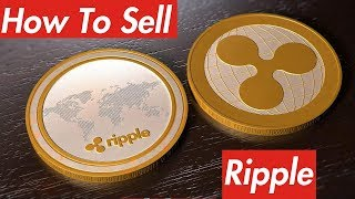 How to Sell Ripple XRP For USD