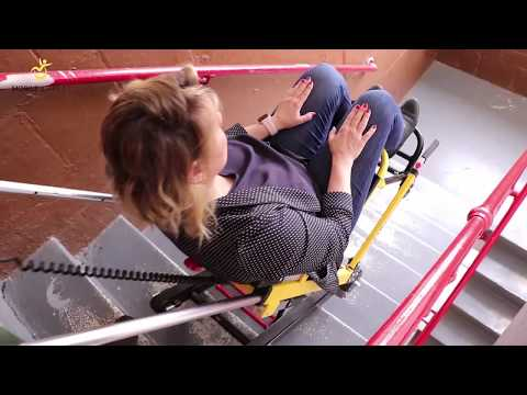 How To Use The Mobile Stairlift On Staircases With Multiple Landings
