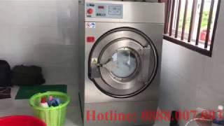 Máy giặt chăn công nghiệp Image HE-60 của Thái Lan giặt đồ cho nhà nghỉ tại Kiên Giang