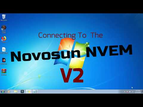 Connecting To The Nvem V2 Part 2- Solved :D