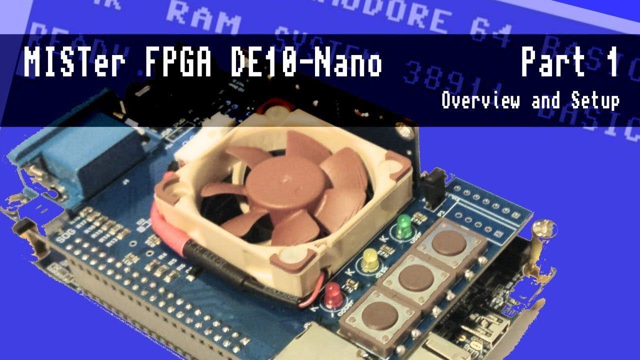 MiSTer FPGA (computer/console/arcade hardware simulation