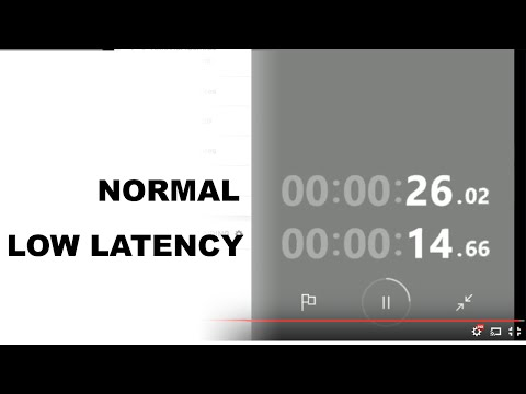 Latency Test: Normal vs Low Latency Mode of YouTube Live Streaming