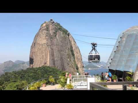 Pan de azucar - Sugarloaf's cable car, Rio de Janeiro, Brazil