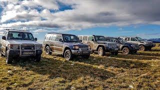 Jeep Grand Cherokee vs Jeep Wrangler vs Mitsubishi Pajero vs Toyota Hilux
