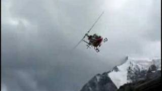Crazy helicopter takeoff