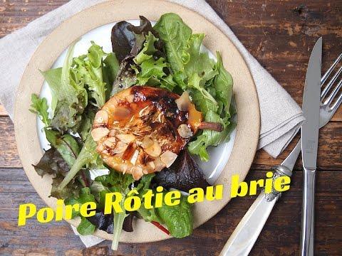 poire-rôtie-au-brie-/-fromage-et-dessert