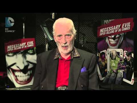 SDCC 2013: Christopher Lee Introduces Necessary Evil