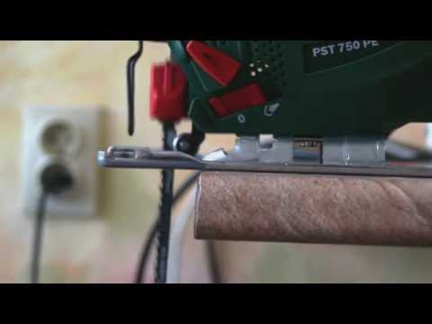 Видео обзор: Лобзик BOSCH PST 750 PE в кейсе