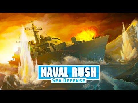 Naval Rush - Sea Defense Android Gameplay ᴴᴰ