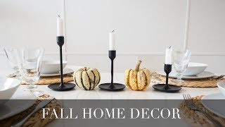 Fall Decor 2018