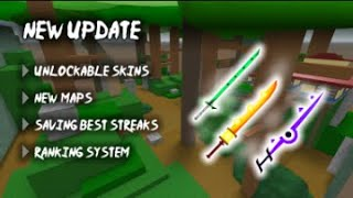 ROBLOX---Trying to get a new sword in be a  parkour Ninja