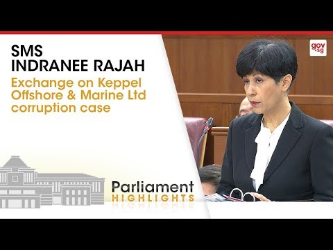 Exchange on Keppel Offshore & Marine Ltd corruption case