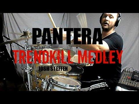 PANTERA - Trendkill Medley - Drum Cover