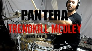 Download PANTERA - Trendkill Medley - Drum Cover MP3 song and Music Video