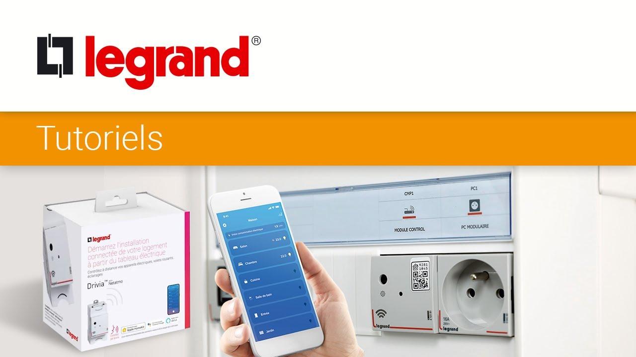 Comment installer un pack de démarrage connecté Drivia with Netatmo de Legrand ?