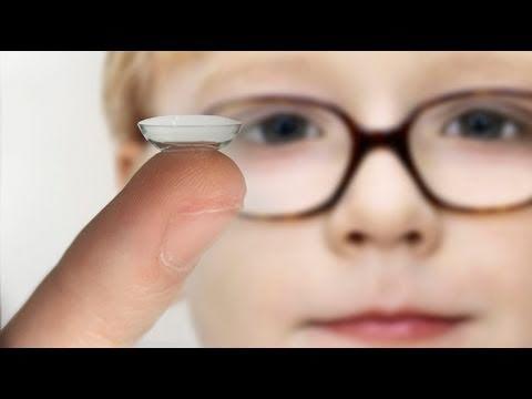 937c357d2b457 A partir de qué edad pueden usar lentes de contacto los niños  - YouTube
