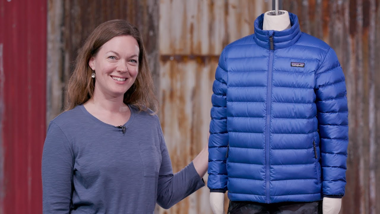 78b9f6a13d80 Patagonia Boys  Down Sweater Jacket - YouTube