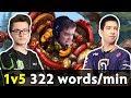 Timbersaw 1vs5 jukes — ODPixel RAP GOD goes ham 322 words/min casting