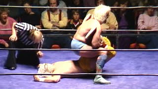 Ric Flair defends his World Title against Tommy Rich (WWE Hidden Gem)