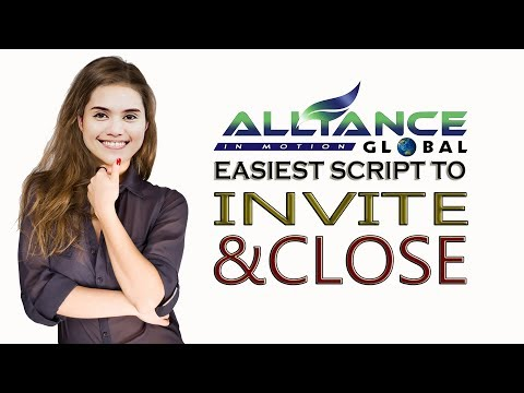 AIM GLOBAL Coaching #3 : DEADLY INVITING & CLOSING SCRIPTS