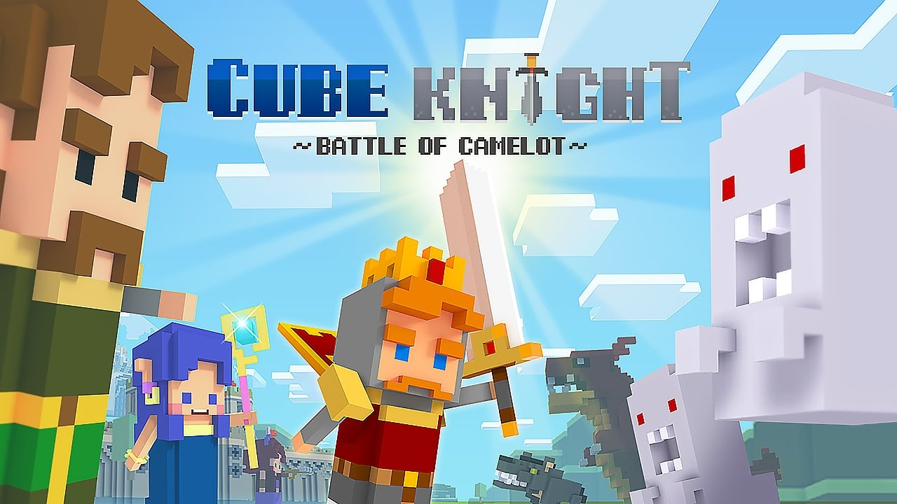 Cube Knight: Battle of Camelot - Android Gameplay