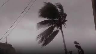 Hurricane Irma Waves breach Cuba sea wall