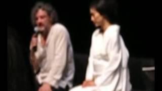 Conversation apres la piece de theatre LE FUSIL DE CHASSE mettant e...