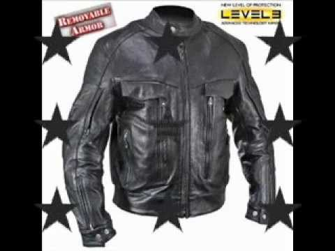 Xelement Men S Bandit Buffalo Leather Cruiser Motorcycle Jacket