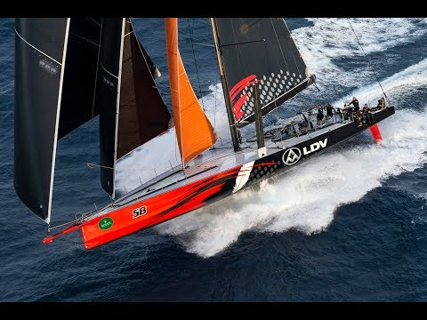 Rolex Sydney Hobart Yacht Race 2017 -  Line Honours