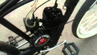 Beach Cruiser with 80cc motor