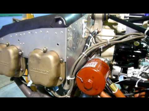 Engine baffles for the Continental O-200 aircraft engine installation in the STOL CH 750