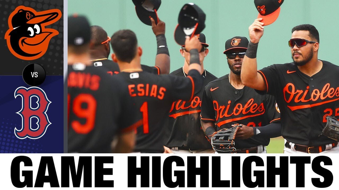 José Iglesias gets four hits, Orioles outlast the Red Sox | Orioles-Red Sox Game Highlights 7/26/20
