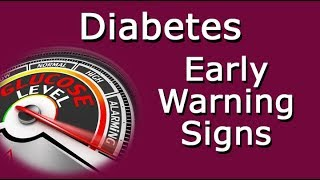 Diabetes Early Warning Signs