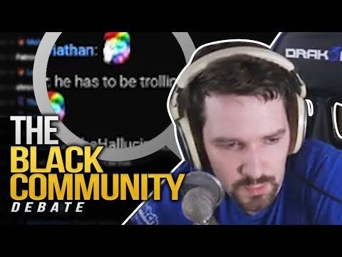 The Black Community -  A Debate with a Viewer