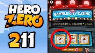 Hero Zero #211: Gamble City Casino Jackpot abgeräumt! | Let's Play Hero Zero