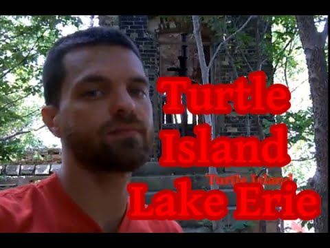 Turtle Island Adventure on Lake Erie (Old British Fort Ruins Explored) Michigan Great Lake