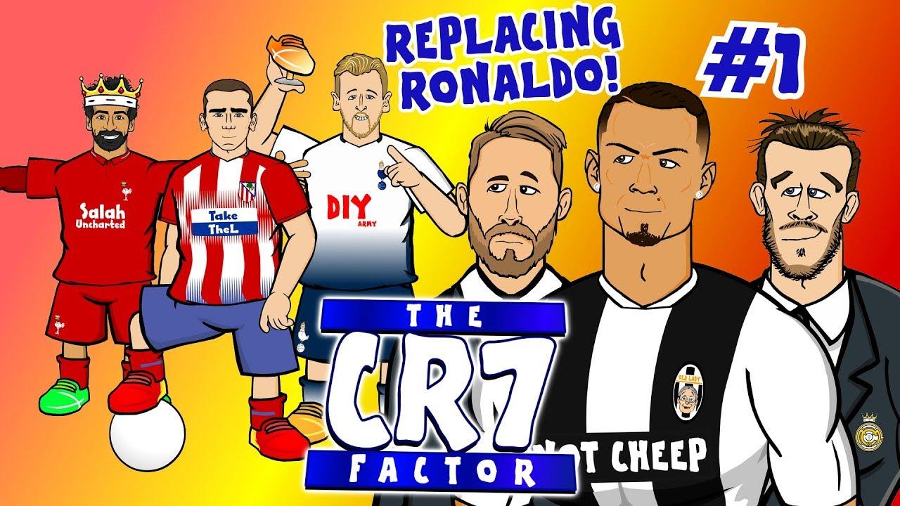 the-cr7-factor-1-replacing-ronaldo-feat-griezmann-salah-kane-and-more-parody
